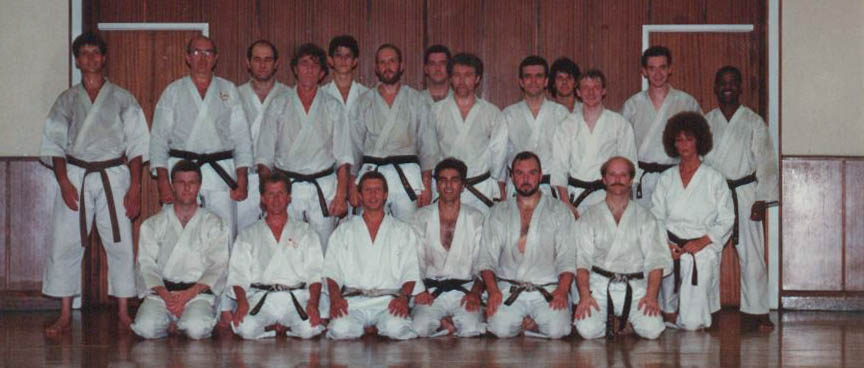 Brighton Shotokan Club 1989